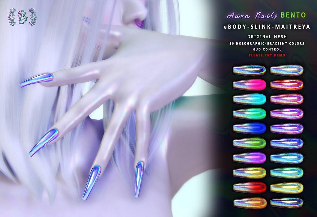 Aura Nails @ EBENTO - TeleportHub.com Live!