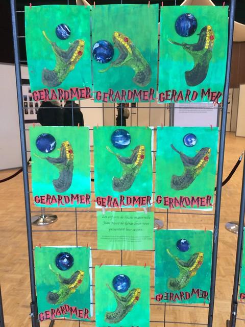 Gérardmer 2019 : Exposition créations des enfants de la ville