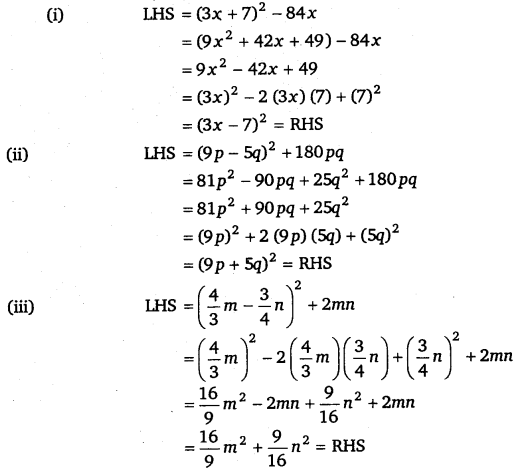 NCERT Solutions for Class 8 Maths Chapter 9 Algebraic Expressions and Identities 30