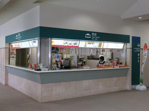 福島競馬場の4階の売店アスコット