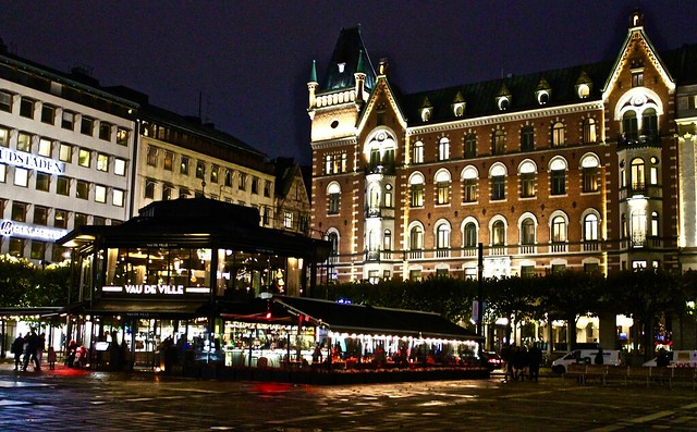 Stockholm at night, Canon EOS 1300D, Canon EF-S 18-55mm f/3.5-5.6 IS II