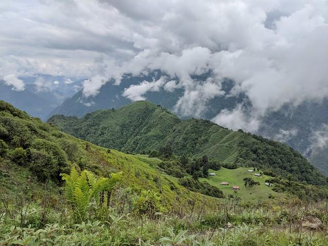 nearing Zemithang village