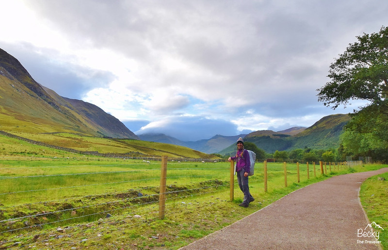 Ben Nevis walk - setting off on the hike