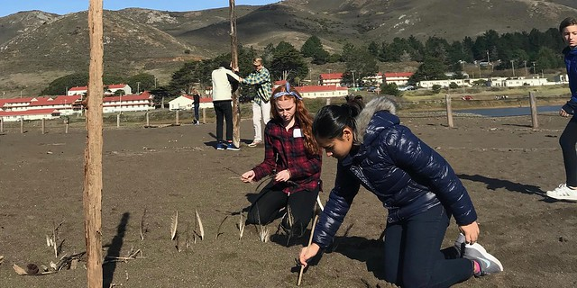 Marin Headlands Art Apprenticeship Retreat, Nov. 30, 2018