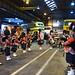 Bagpipe players - Yardley Wood Bus Garage 80th birthday