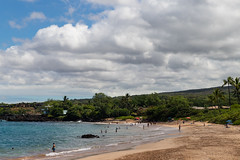Maluaka Strand Park Maui Hawaii