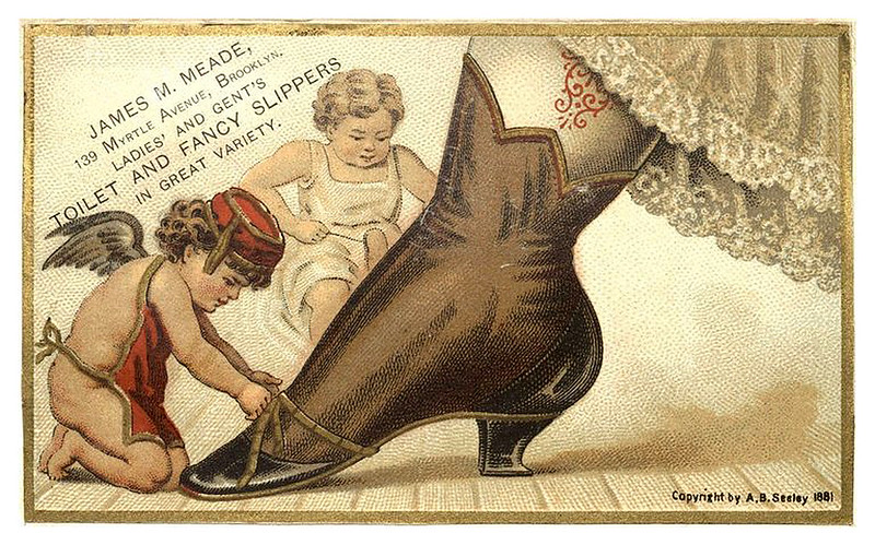 002-Scrapbook of trade cards 1877-1894- Brooklin Museum