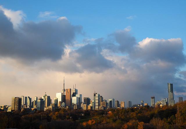 Morning Light Bathes Toronto, Olympus E-M1, Olympus M.Zuiko Digital 25mm F1.8