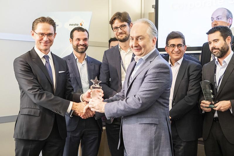 SEP Europe's Corporate Startup Stars 2018