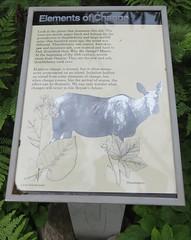 Elements of Change Marker (Isle Royale National Park, Michigan)