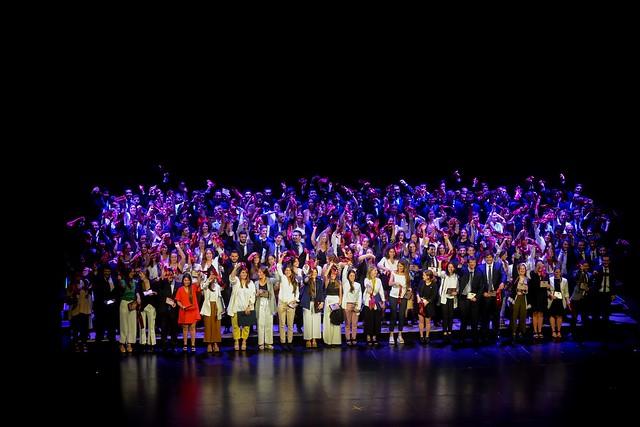 Ceremonia de graduación - noviembre de 2018