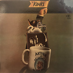 THE KINKS:ARTHUR OR THE DECLINE AND FALL OF THE BRITISH EMPIRE(JACKET A)