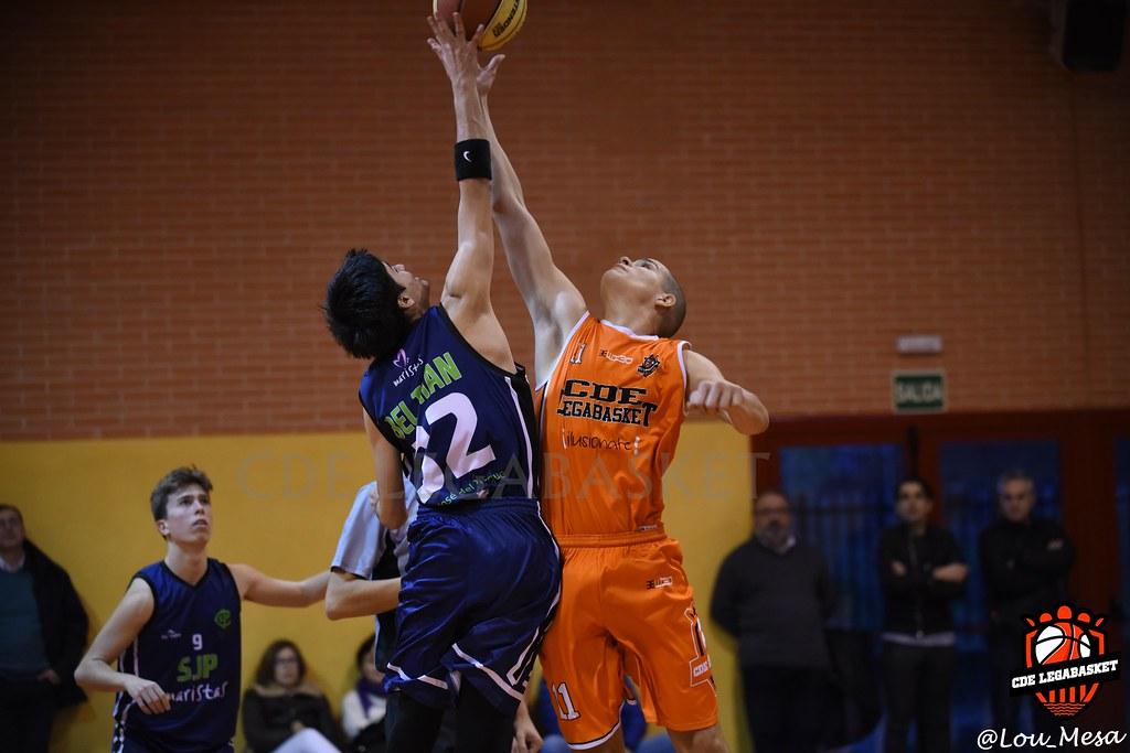 01/12/2018.- Junior Naranja Masculino vs San José del Parque