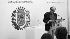 """Prsentación del libro """"Memoria Cultural del Cementerio de Torrero 2008 - 2018."""