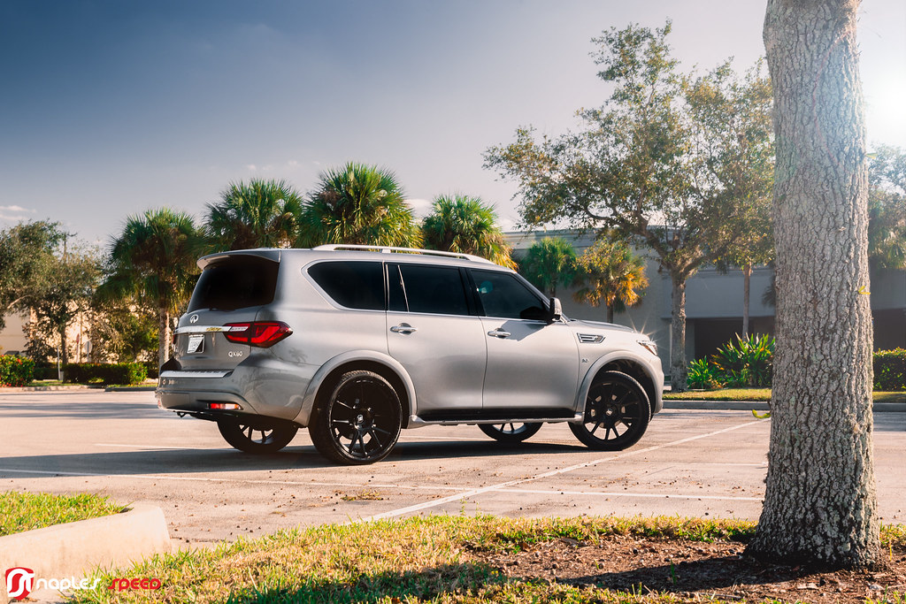 Infiniti QX80 on Black Rhino Wheels