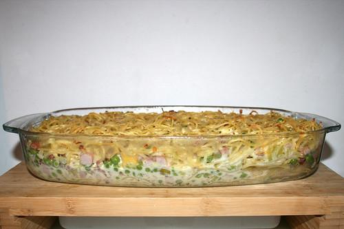 33 - Spaghetti ham casserole with yoghurt sauce - Finished baking 2 / Spaghetti-Schinken-Auflauf mit Joghurtguss - Fertig gebacken 2