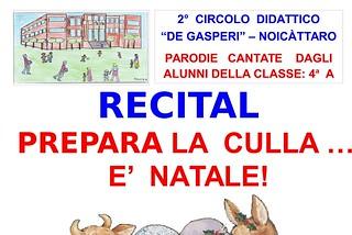 Noicattaro. musical de gasperi front