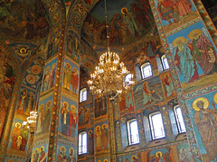 Mosaic in the Church of the Savior on Blood, St. Petersburg