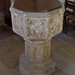043-20180927_Great Washbourne Church-Gloucestershire-Chancel-the medieval Font
