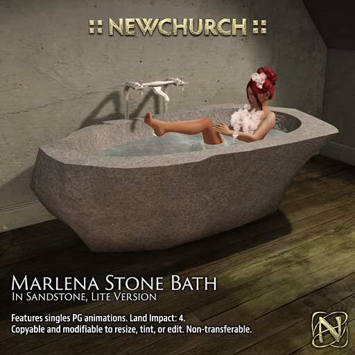 "NewChurch Marlena Stone Bath MadPea Premium Alliance ""New Year, New You"" Hunt"