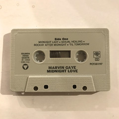 MARVIN GAYE:MIDNIGHT LOVE(CT)(TAPE SIDE-A)