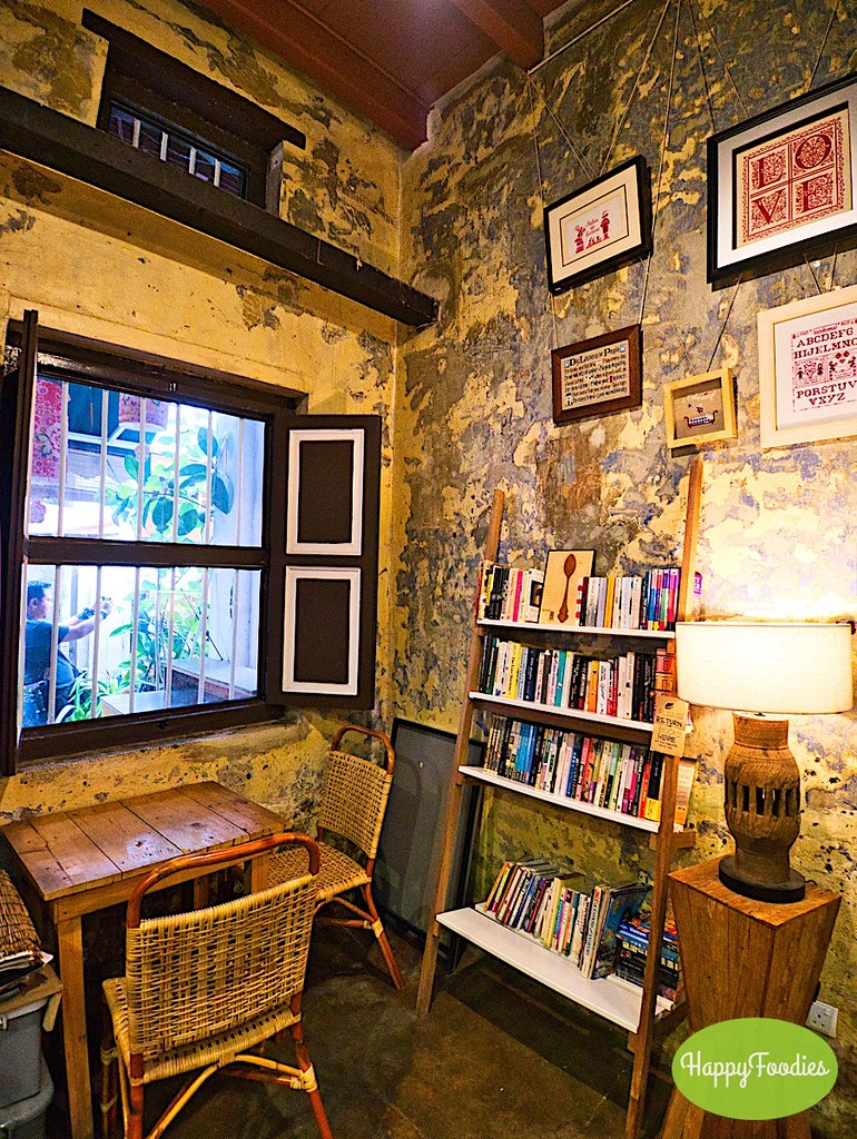An ideal place to read while sipping a good cup of Ipoh coffee