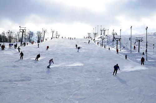 Jednodenní skipas do skiareálu MLADÉ BUKY s 40 % slevou