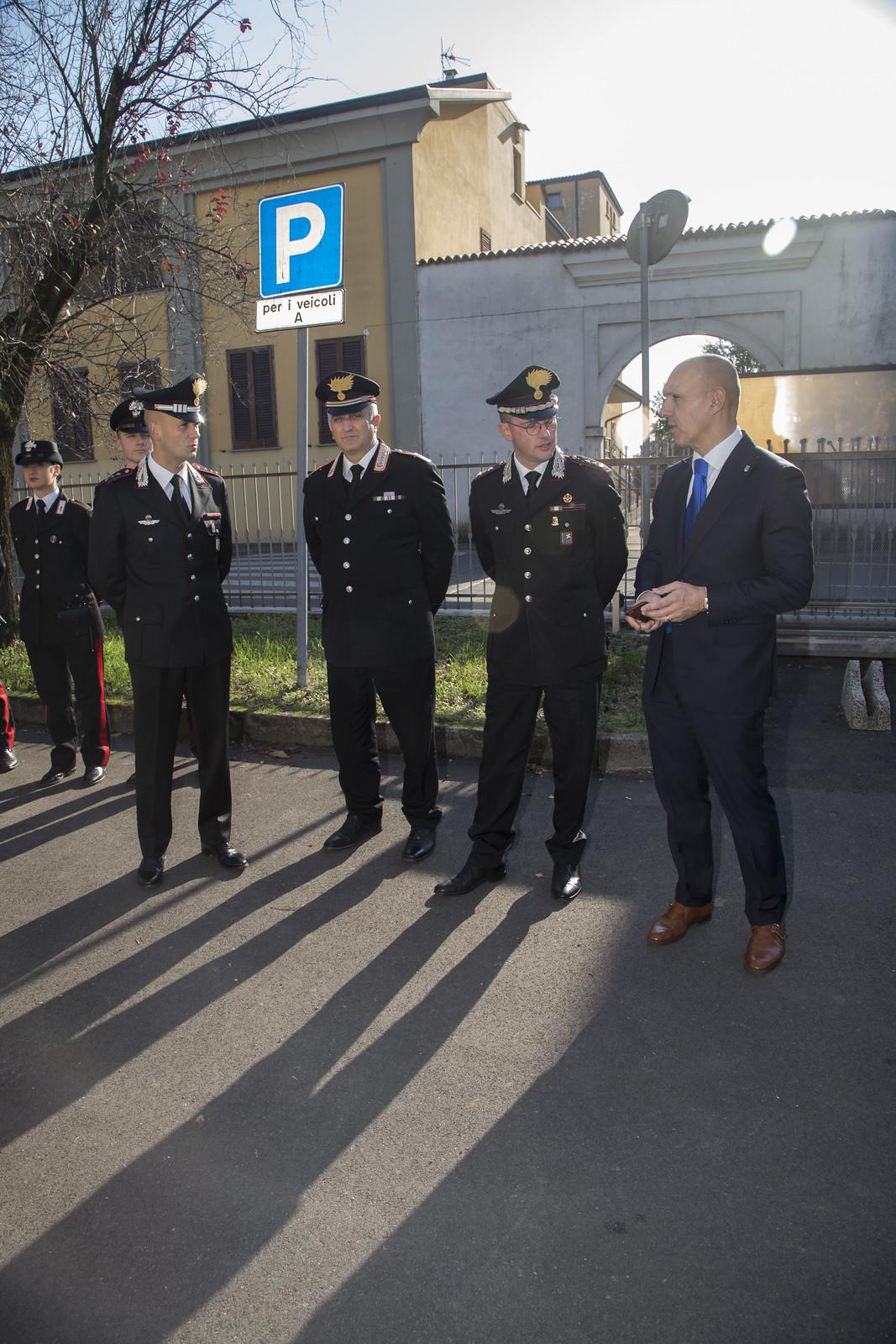 In dono all'Arma dei Carabinieri una nuova autovettura