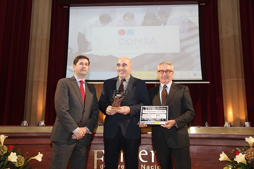COMSA receives the Atlante award for its work in Occupational Health and Safety