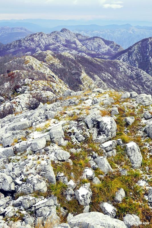 Вид в сторону вершины Каменски Кабао