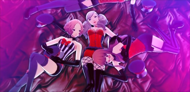 Persona 5 Dansen de hele nacht door