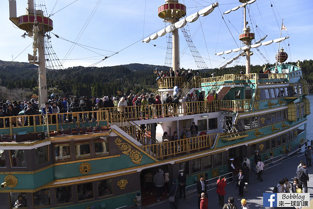 箱根海賊觀光船-34