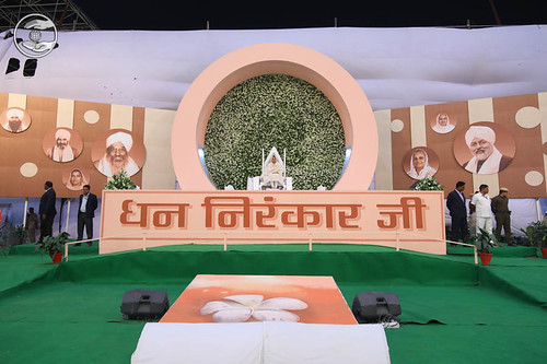 A view of Stage, 71st Samagam