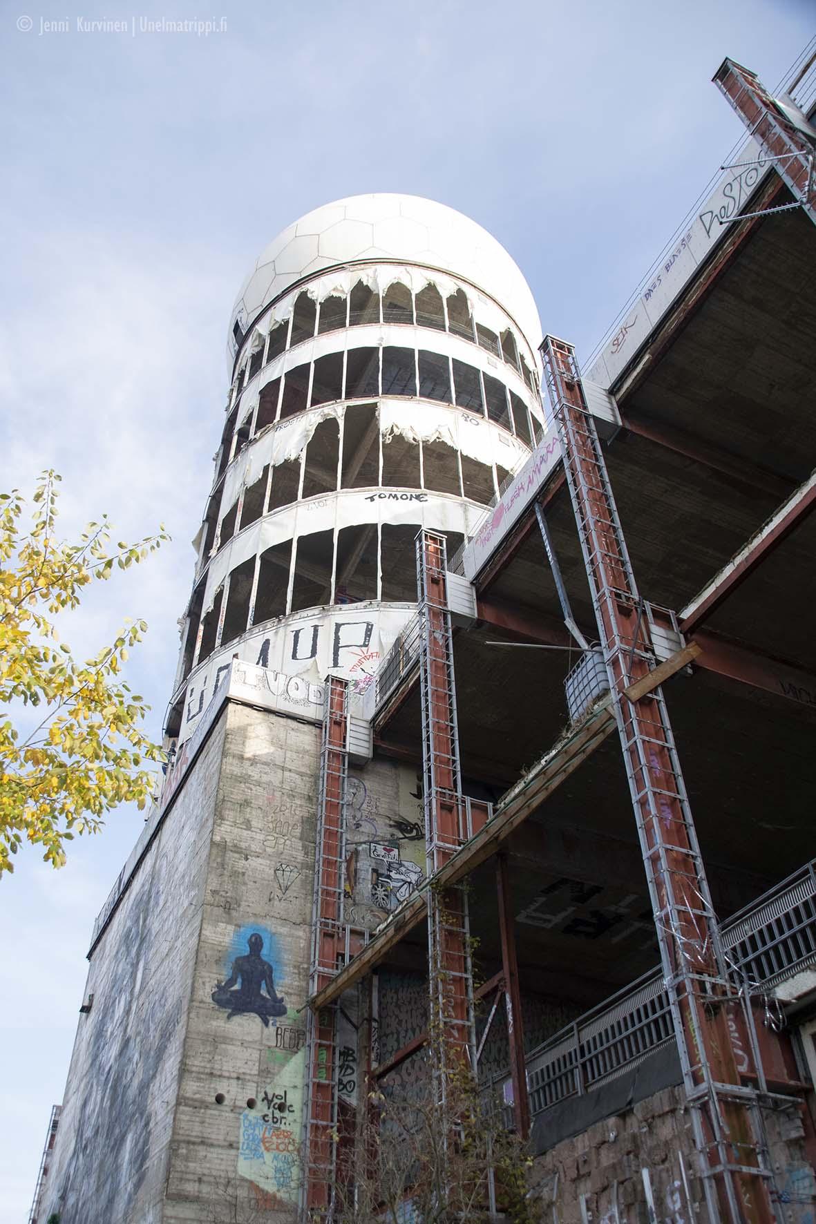 Yksi Teufelsbergin torneista