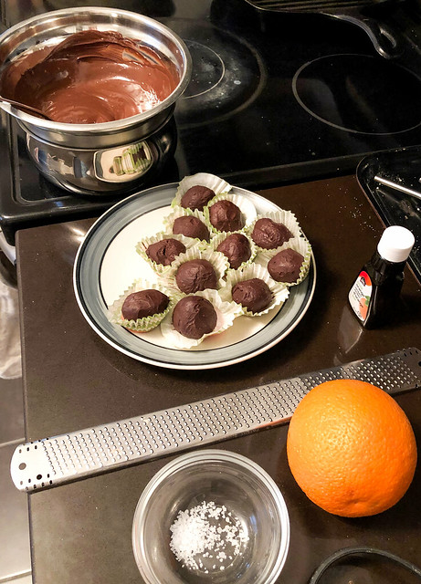Earl Grey Infused Truffles Using MagicalButter Machine