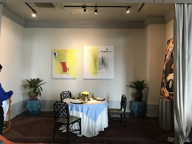 Manila House, semi-private dining space
