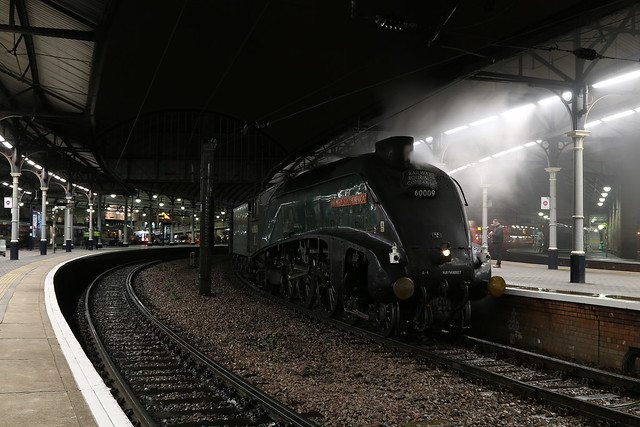 60009 At Newcastle Central