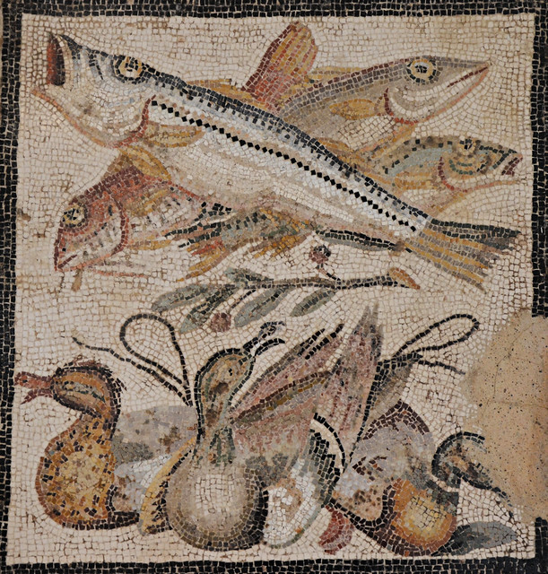 Mosaic from the House of the Faun, Pompeii, Naples National Archaeological Museum