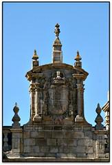 Hastial del ayuntamiento, Ponferrada (León, España)