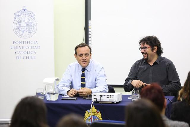 Visita rector Ignacio Sánchez a Campus Villarrica.