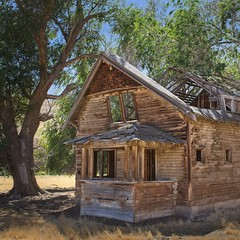 Abandoned House on Butter Creek 9453 C