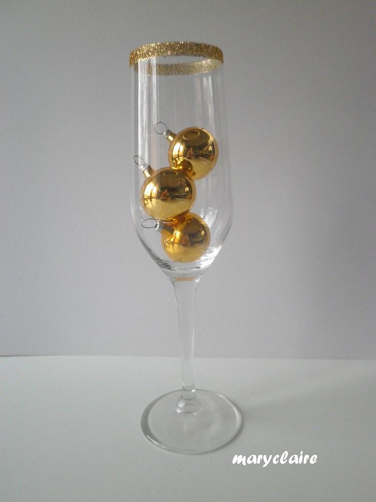 bicchiere color oro