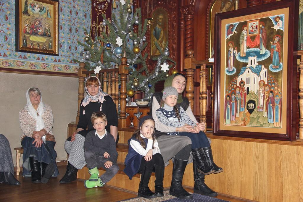 Рождественская праздничная Божественная литургия