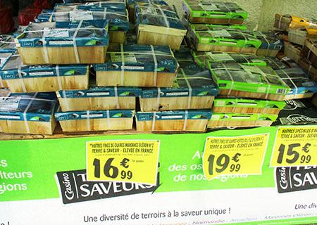 FRANCIA Huitres ostriche a, Canon IXUS 160
