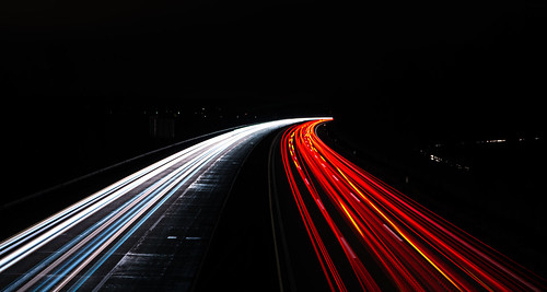 Light Trail Highway