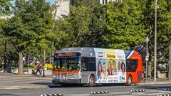 WMATA Metrobus 2012 New Flyer Xcelsior XDE40 #7105