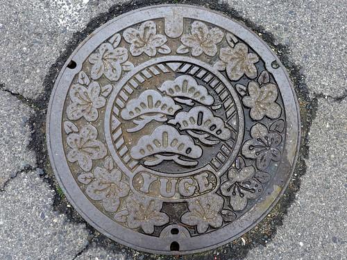 Yuge Ehime, manhole cover (愛媛県弓削町のマンホール)