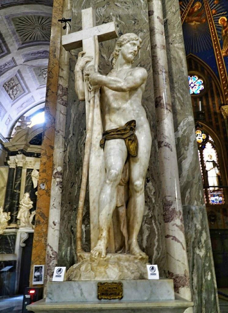 Michelangelon Ristiä kantava Kristus