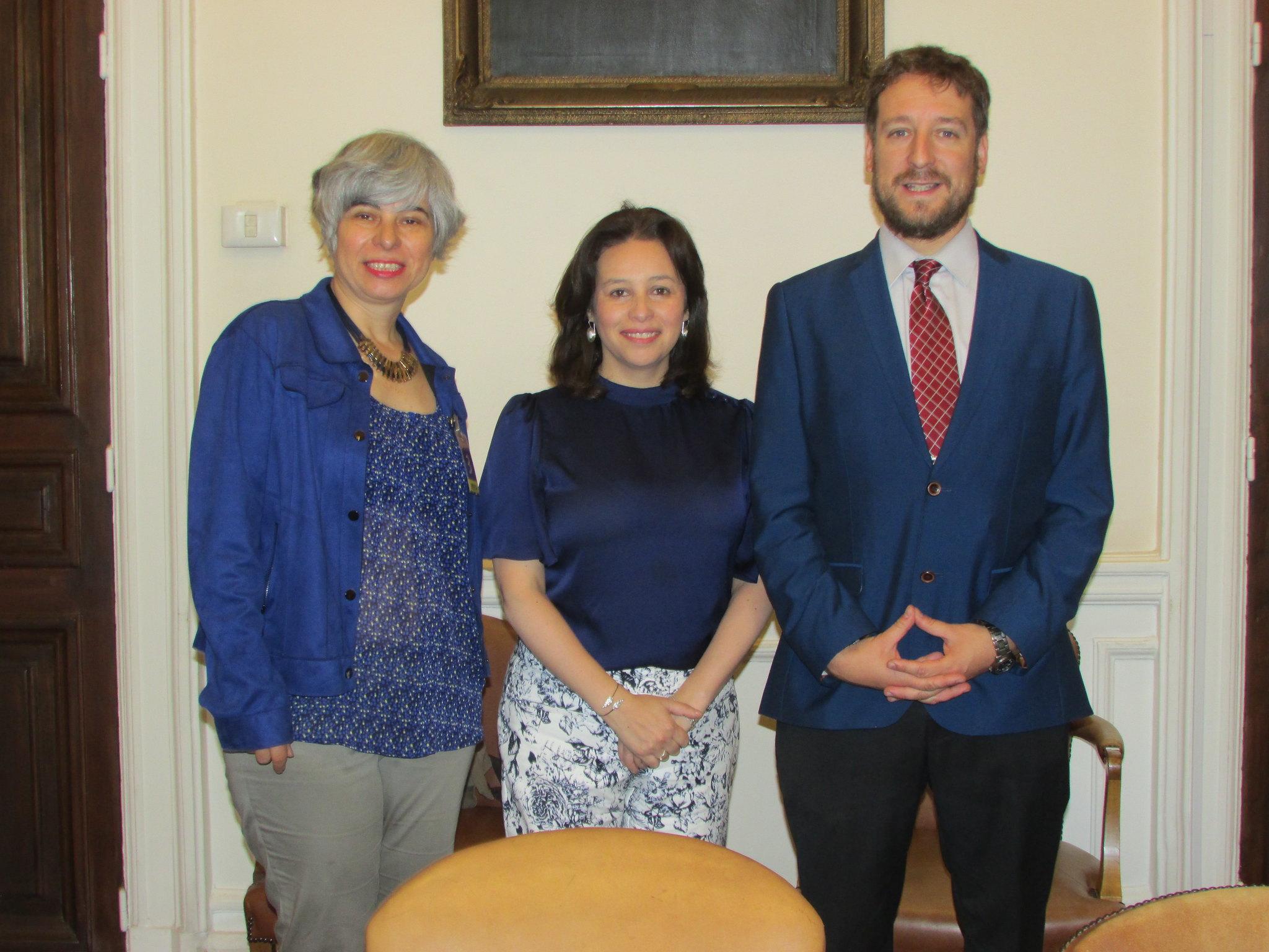 FENADAJ se reúne con senadora Ximena Ordenes - 29 Noviembre 2018