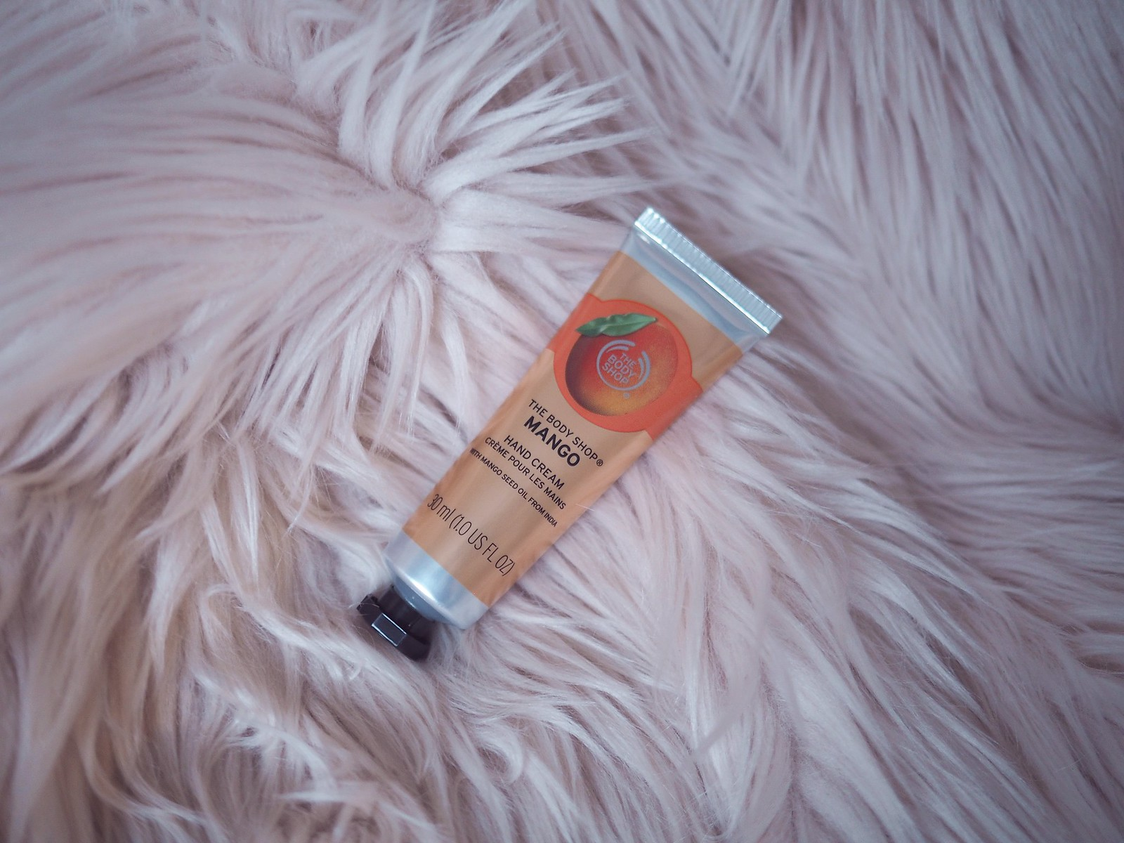 mango käsirasva the body shop